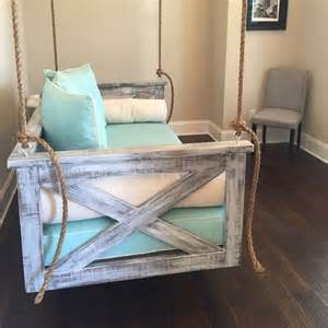 Diy Daybed Swing Best 25 Porch Swing Beds Ideas On Porch Bed