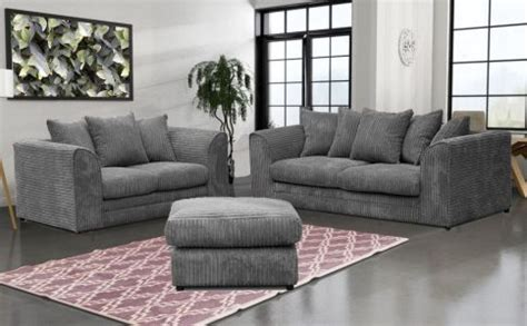 cheap sofa suite stanton full jumbo fabric sofa suite charcoal high
