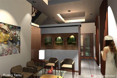 desain interior ruang tamu ruko desain interior interior design