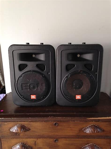 Speaker Jbl Usa jbl usa made eon 10 g2 powered speakers active floor pa reverb