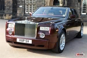 Royal Rolls Royce Rolls Royce Phantom Hire Royal Burgundy