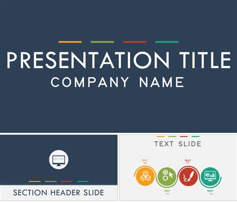 flat design powerpoint template 7 amazing powerpoint template designs for your company or
