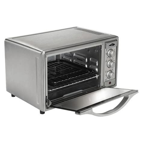 Oster Toaster Oven Target Oster 174 6 Slice Convection Toaster Oven Brushed Stainless