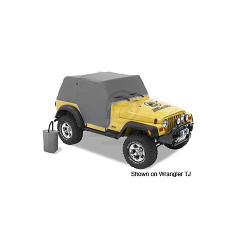 92 Jeep Parts Trailcover Wrangler 92 95 Charcoal Jeep Parts All