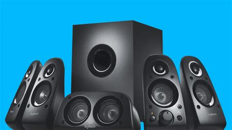 Logitech Z506 5 1 Speaker logitech z506 5 1 surround sound speakers system with 3d