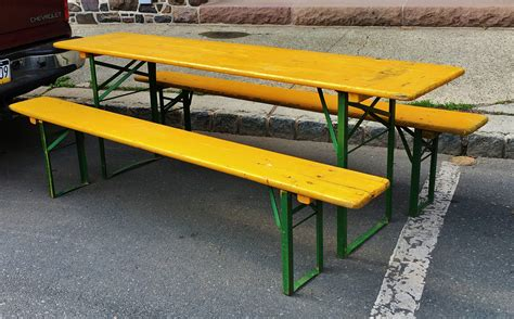 Biergarten Table by Vintage Biergarten Table The People S Store