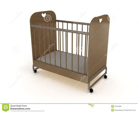 futon on wheels cot on wheels with a mattress royalty free stock image