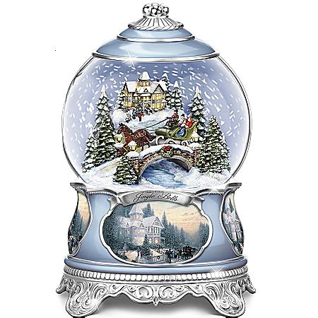 musical snow globes musical water globes