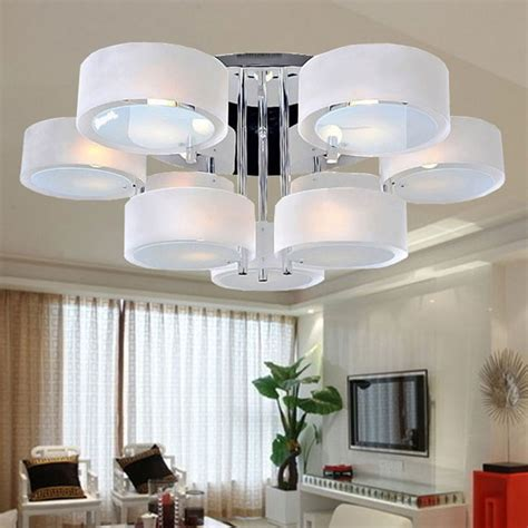 modern chrome light chandelier pendant ceiling fixture acrylic chandelier modern simple ceiling light l