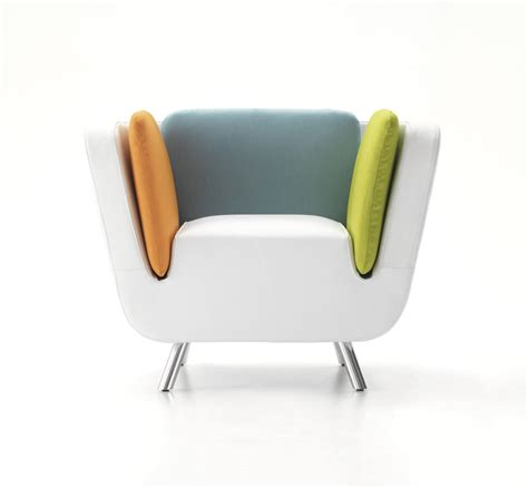 designer chair nook lounge chair matching luggage by karim rashid