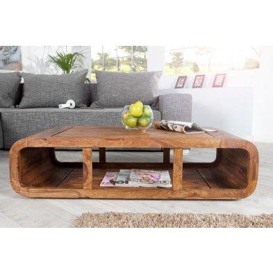 table tele en bois table salon rectangle arrondi en bois massif de palissandre salon meubles de