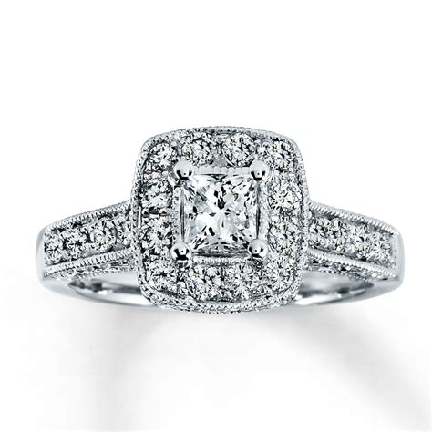 tacori princess cut engagement rings ring