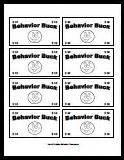 Classroom Bucks Template by Printable Behavior Bucks Reward Bucks