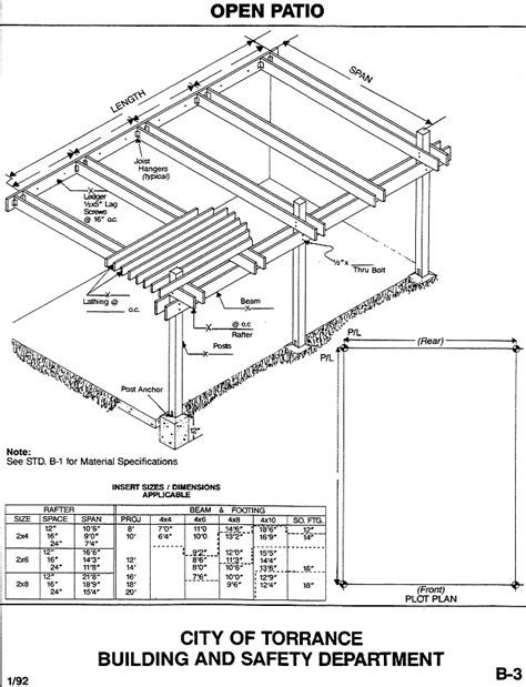 covered patio building plans 187 design and ideas