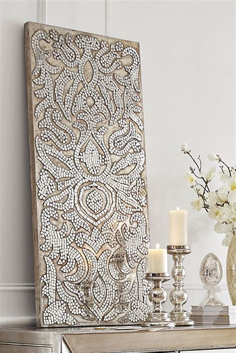 mirrored wall decor best 25 mosaic wall ideas on mosaic tile