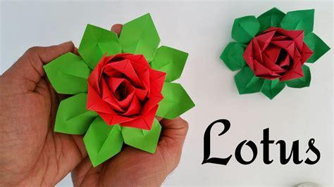 Origami Sheets India - modular origami tutorial to make quot lotus quot indian