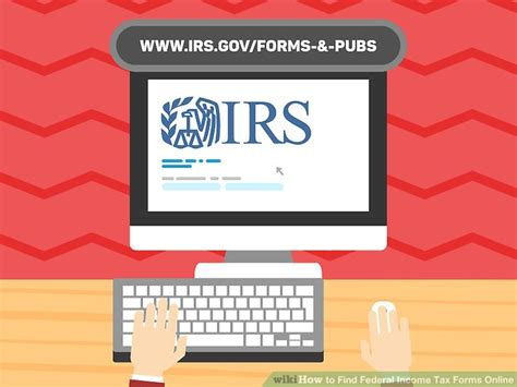 Search Federal 4 Ways To Find Federal Income Tax Forms Wikihow