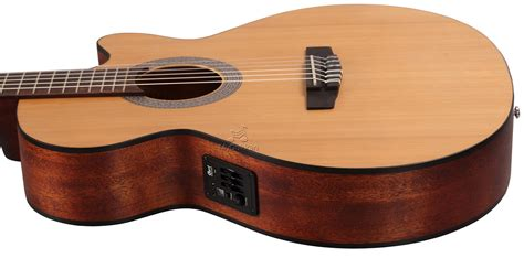 New Cort Gitar Klasik Elektrik Cec 1 Op cort cec1 op open elektro klasik gitar