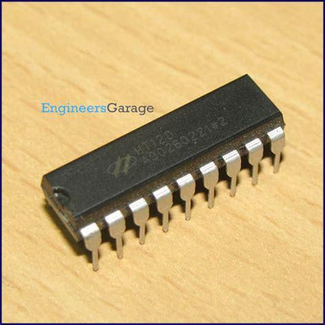 Ht12d ht12d decoder ic ht12d datasheet pin diagram