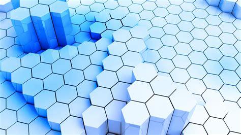 wallpaper 3d white full hd wallpaper hexagon structure column desktop