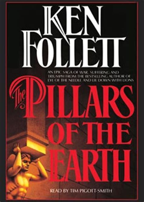 the pillars of books pillars of the earth audio book cassettes abridged