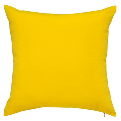 Patio Cushions Yellow Fresco Yellow Outdoor Cushion 45x45cm Hupper