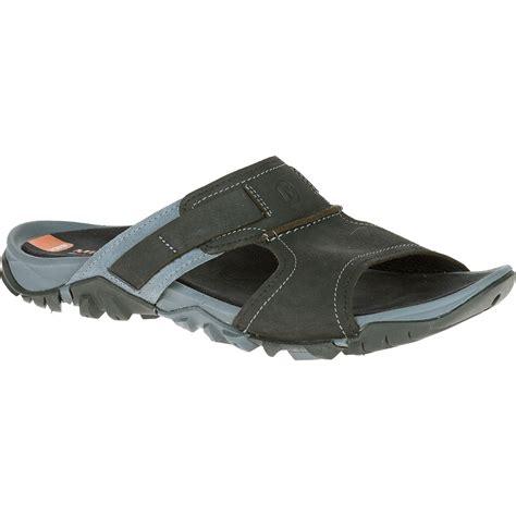 slide sandals merrell s telluride slide sandals black