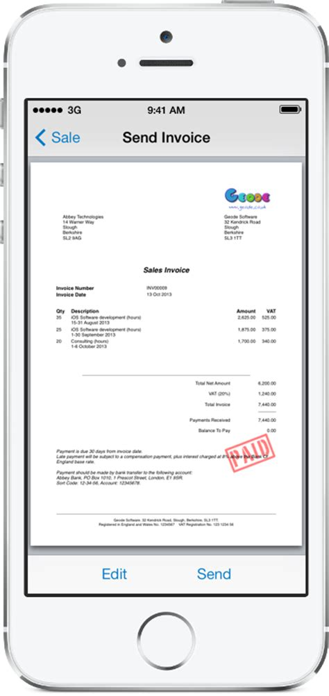 Invoice Template For Iphone by Invoice Template Uk Rabitah Net