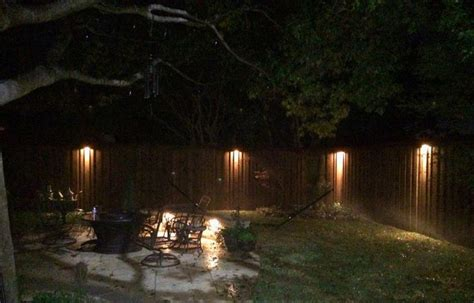 17 best images about fence step wall lighting