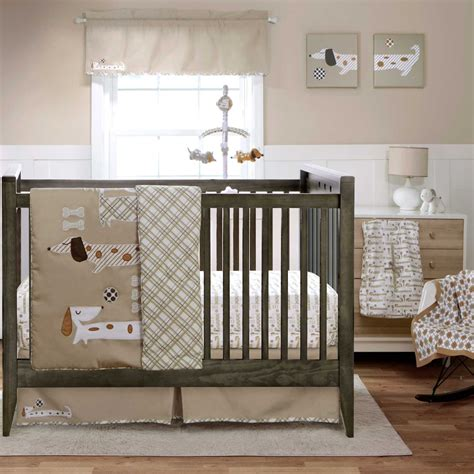 Migi Puppy Play Baby Bedding And Decor Baby Bedding And Puppy Crib Bedding