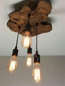Wood Lighting Fixtures Live Edge Olive Wood Light Fixture Modern Midwest