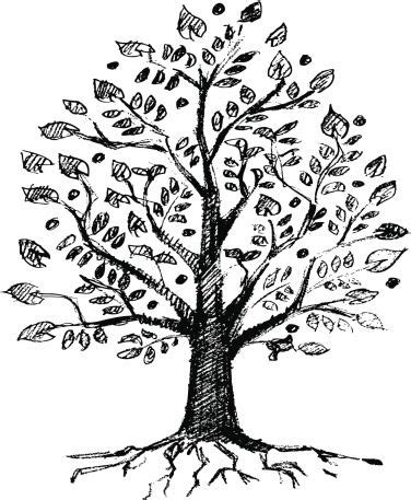 easy tree to draw doodle diaries really cool things to draw when you re