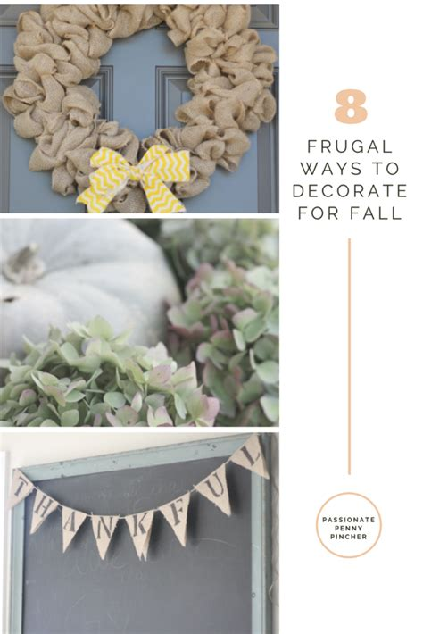 8 frugal ways to decorate for fall passionate penny pincher