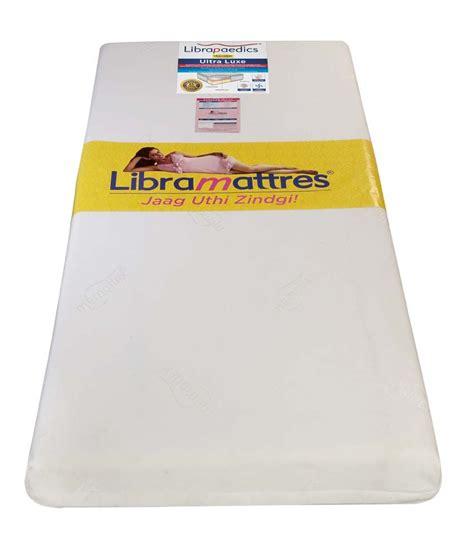 Libra Mattress Review by Libra Paedics Single Ultra Luxe Memory Foam Mattress 78x