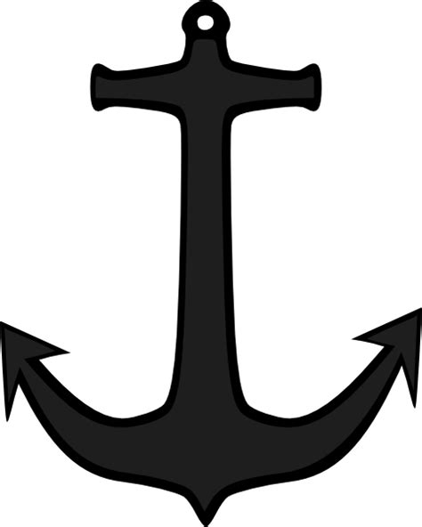 simple anchor clip art at clker com vector clip art