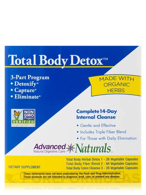 Detox Part 3 by Total Detox 3 Part Kit