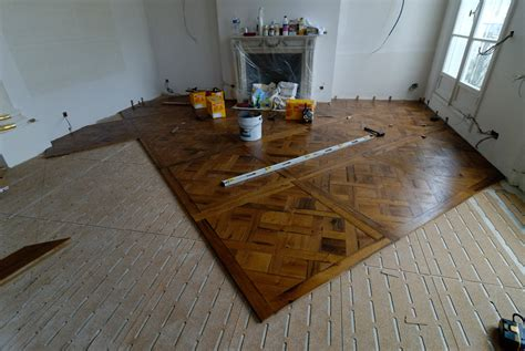 How To Install Parquet Flooring by Atelier Des Granges Parquet Starting The