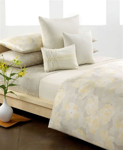 closeout calvin klein poppy comforter and duvet cover sets