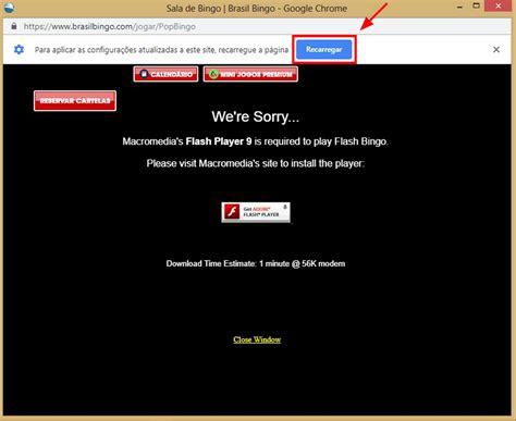 como habilitar  adobe flash  seu navegador  jogar