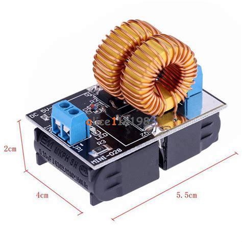 air inductor power supply zvs induction heating power supply module tesla jacob s ladder 5v 12v 9v 120w ebay