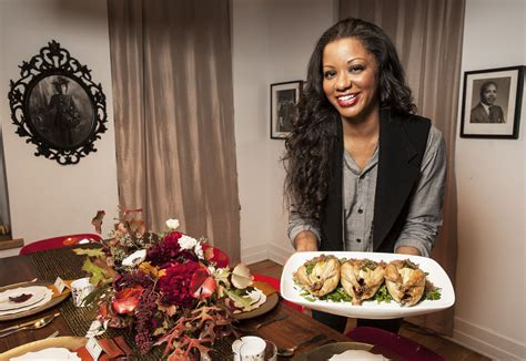 jessica cumberbatch anderson thanksgiving dinner chef vanessa cantave shares her 2012