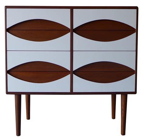 mid century style white dresser mid century modern style white teak dresser chairish