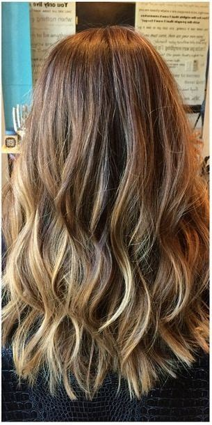 natural  highlights  brunette hair hair color
