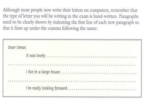 2 format of a friendly letter