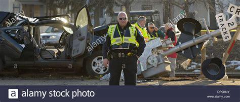 mar   minneapolis mn usa lrt  car accident    stock photo royalty