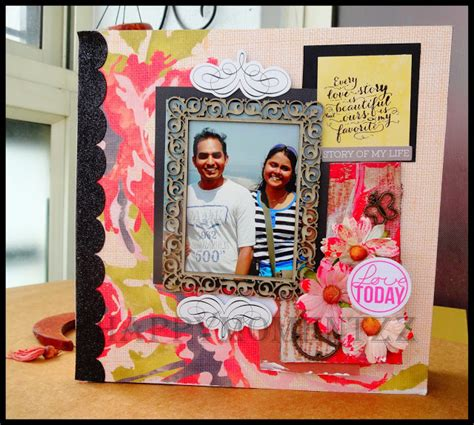 How To Make A Handmade Scrapbook Album - happymomentzz crafting by sharada dilip handmade