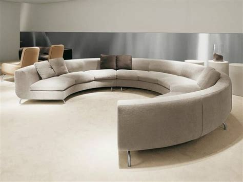 contemporary round sofa modern full round sofa furniture choosing the right a