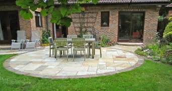 Flagstone Patio Design by Circular Patio Designs Stone Patio Design Ideas Stamped