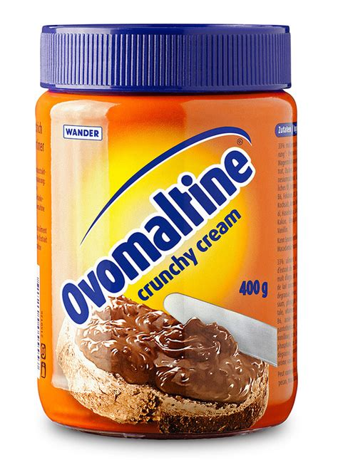 Ovaltine Crunchy Choco ovomaltine fonts in use