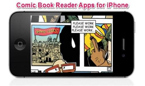 book reader apps 5 free comic book reader apps for iphone